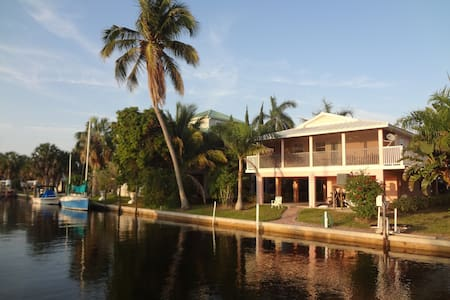 The Bokeelia Boathouse, waterfront, - Bokeelia - Villa
