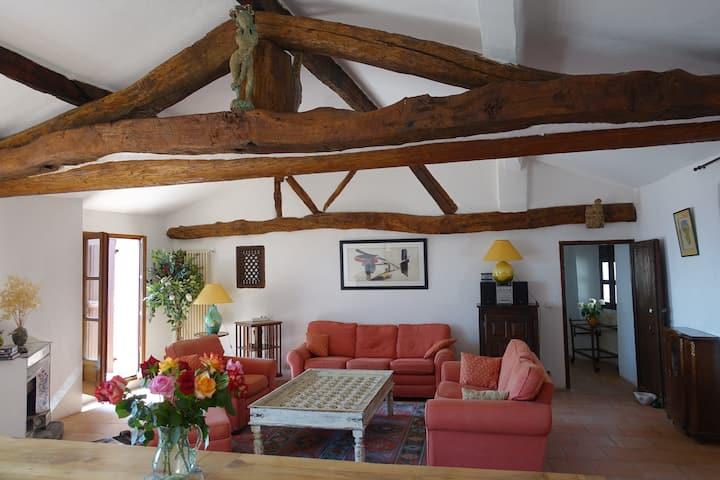 Wonderfull house/historical village/terrace view
