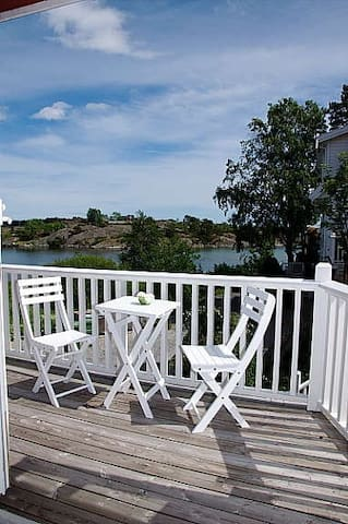 Beachside apartment w/ playground - Grimstad - 아파트