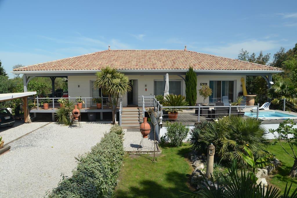 Au bord du bassin d 39 arcachon maisons louer gujan - Maison bassin d arcachon location nice ...