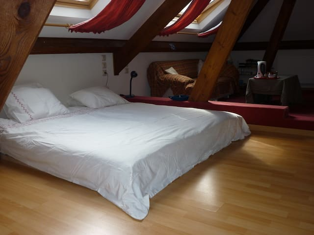 quiet-charming room(sgl or cpl)30M2
