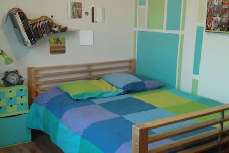Chambre avec lit double - Poncin - House