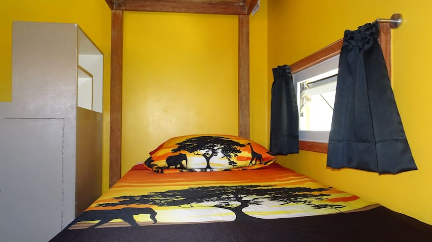 Yellow Dormitory - Bottom Bunk Right