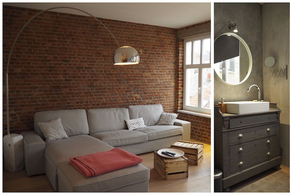 Nice loft in the heart of bruxelles lofts for rent in for Immobilier loft nice