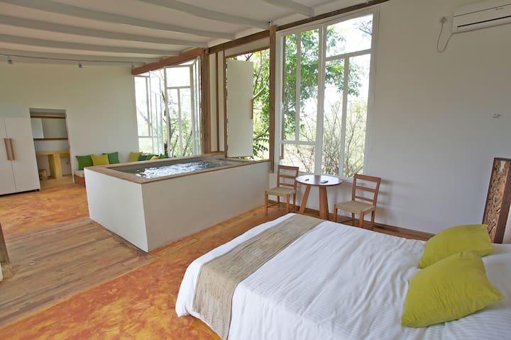Perfect loft for a couple - Észak Goa - Loftlakás