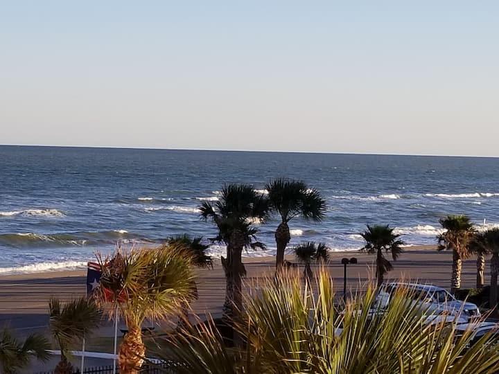 Fabulous Ocean Views Top floor KING bed Sml Dogs