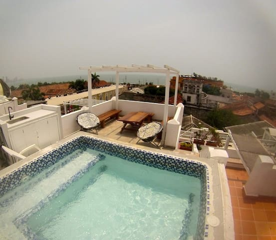 Apartamento romantico panoramico  - Cartagena de Indias