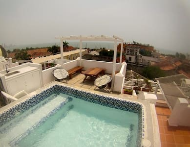 Apartamento romantico panoramico  - Cartagena das Índias - Apartamento
