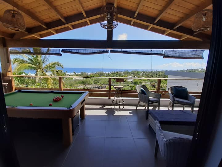 AU SOLEIL chambre salon et terrasse privées