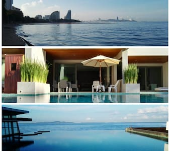 Fantastic Beachfront Pool Access - Muang Pattaya