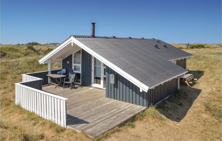 Holiday cottage with 2 bedrooms on 68m² in Hirtshals
