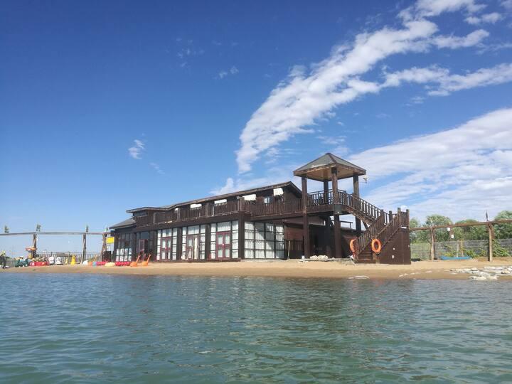 龙湖金沙湾复式湖景房2