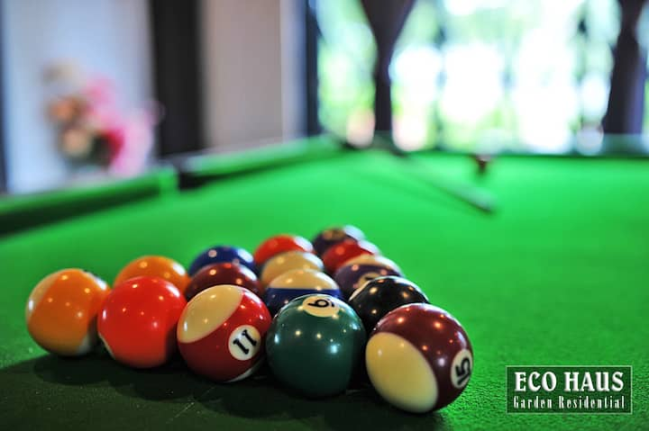 ECOHAUS Garden 5mins Legoland + Karaoke/Pool Table