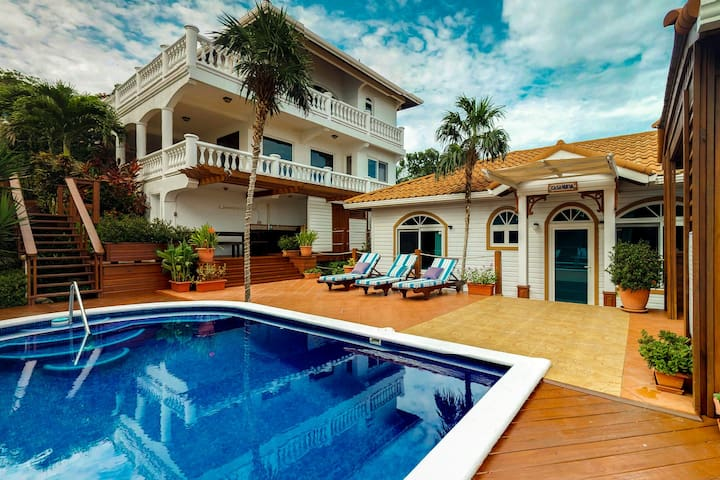 Luxury Villas for Large Groups featuring Private Pool, Ocean Views, near Beach