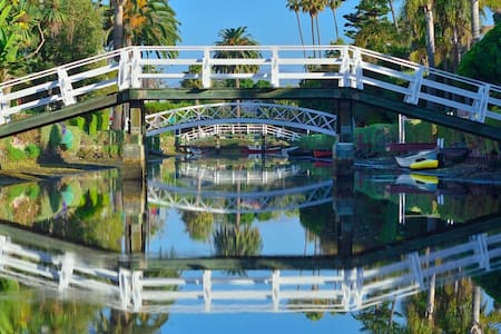 Waterfront on Venice Beach Canals - Los Angeles