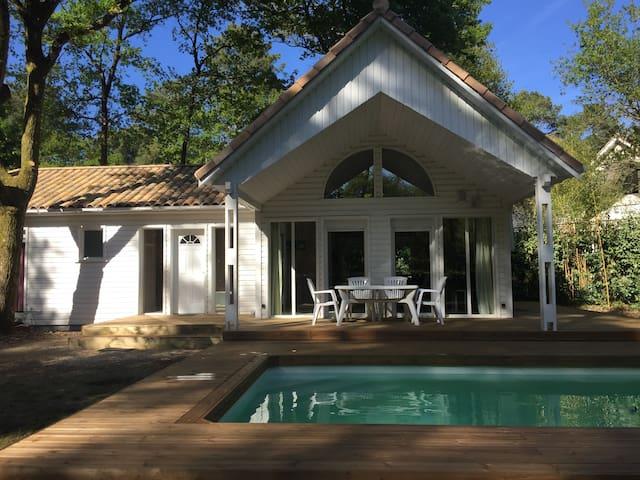 Villa 6p sur le domaine du Golf de Biscarrosse