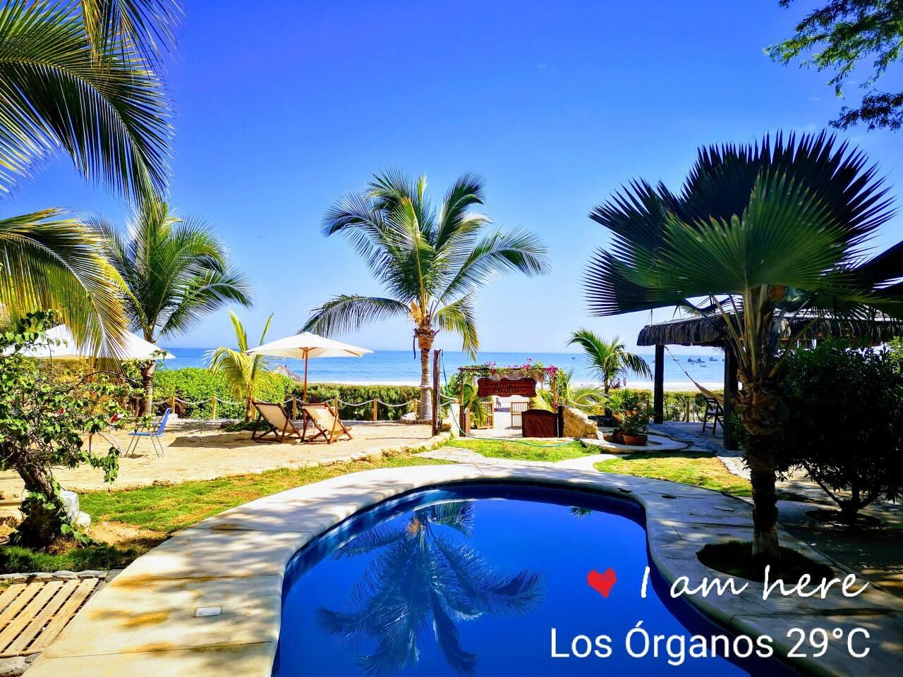 Hermosa casa de playa en el Norte del Perú, Los Órganos - Punta Veleros. El lugar perfecto para desconectarte de la rutina y disfrutar de este paradisiaco lugar frente al mar.