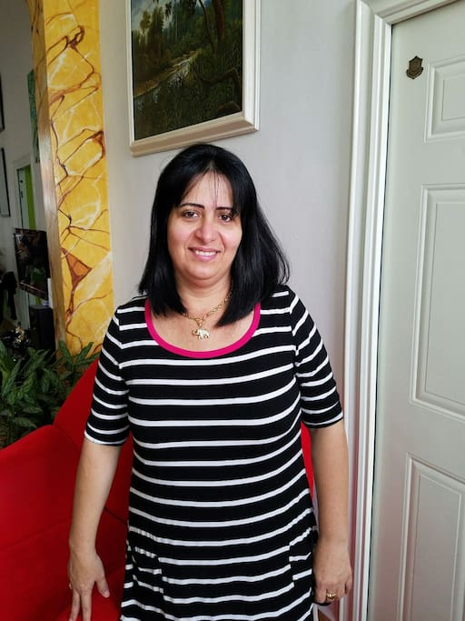 Lenia ,Great person,Cordial and Helpful will welcome you