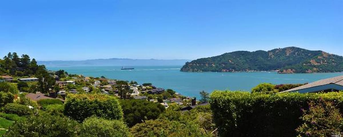 Luxury home with Bay view in Old Tiburon