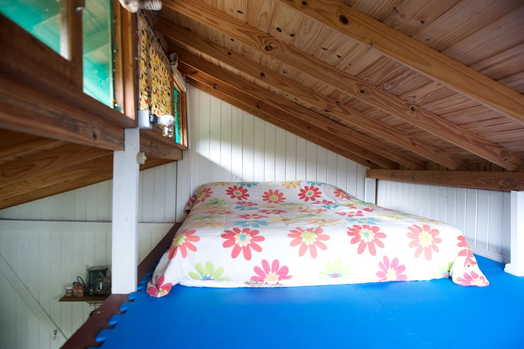 Loft with double bed