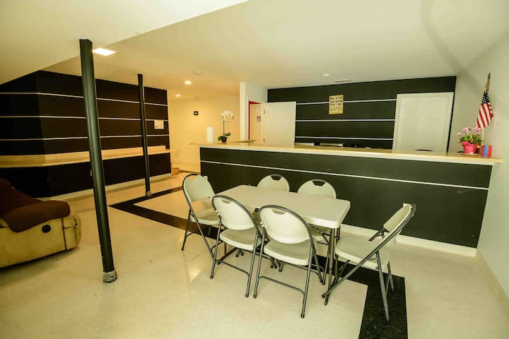 LUXURY & PRIVATE BASEMENT CLEANED FOR YOUR SAFETY