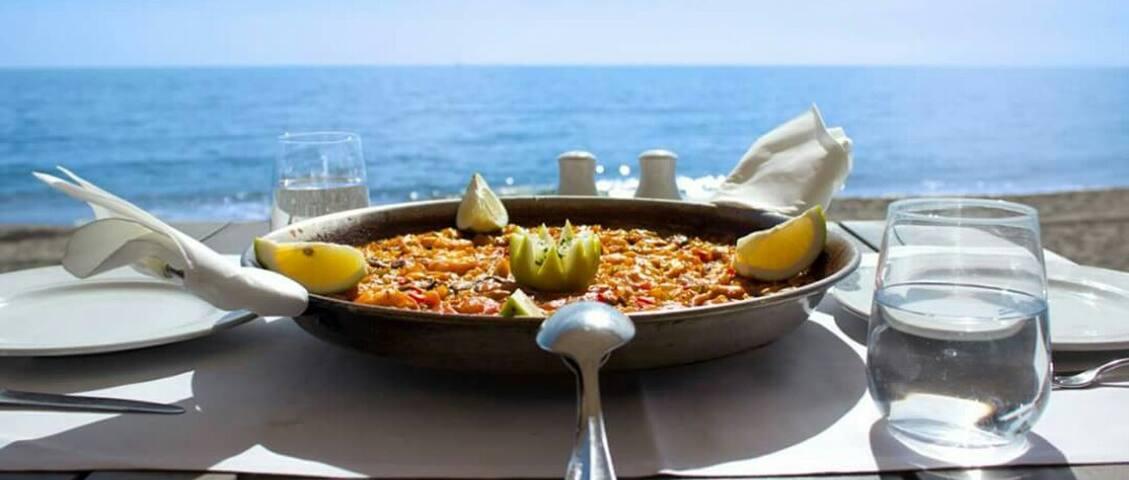 La paella comida típica de Alicante