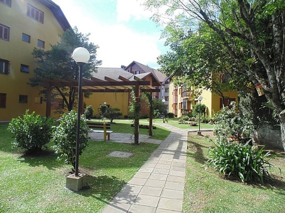 Jardim edifício