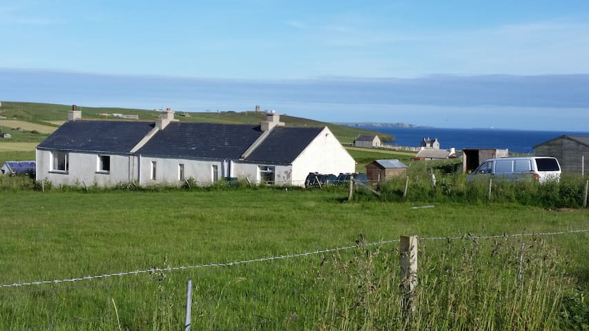 Old School House, Flotta. (Island)