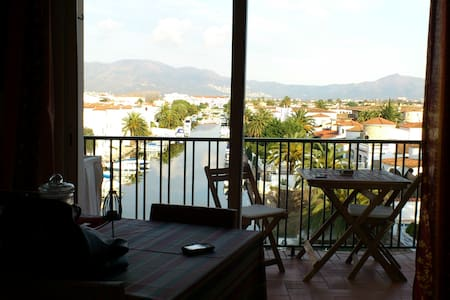 Lovely apt. with views to Marina. - Empuriabrava - Lejlighed