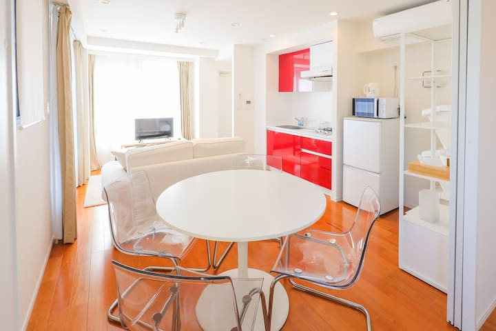 Midtown Roppongi 1BR for Rugby World Cup Stay /402