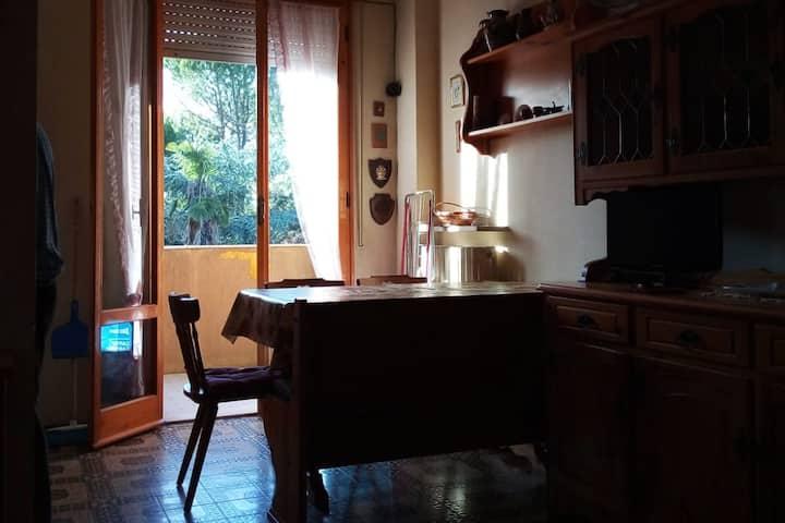 Un appartamento con tutti i servizi accessibili ;