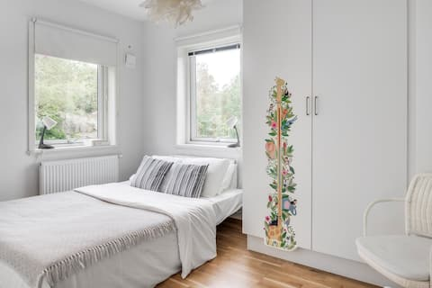 Large family home in Gothenburg with garden