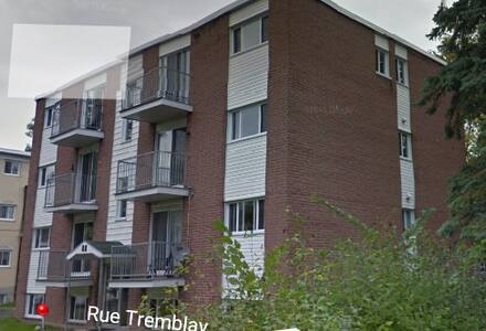 Logement dans un 8 unités- Beauport - Ville de Québec - Daire