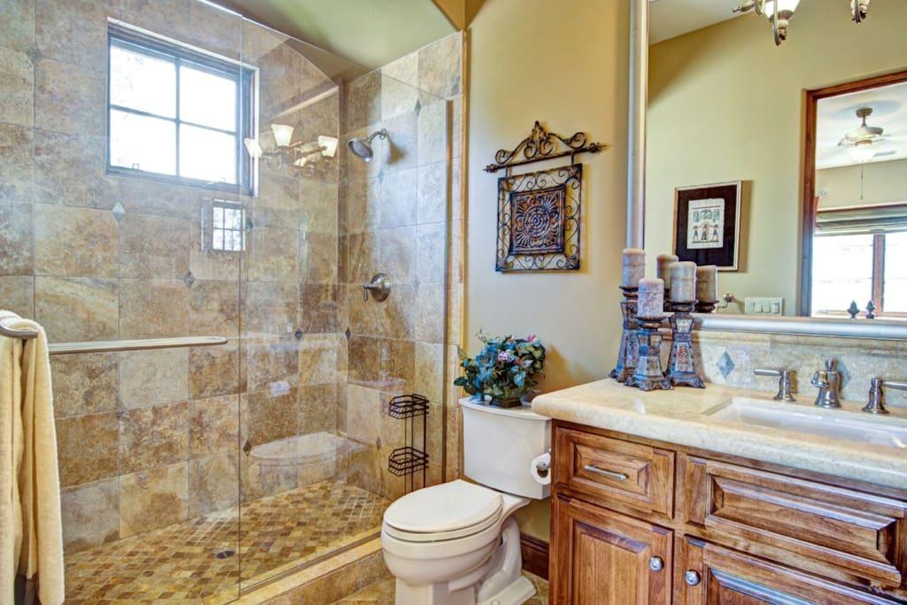 Guest bathroom #1.