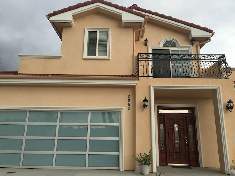 New House with big balcony