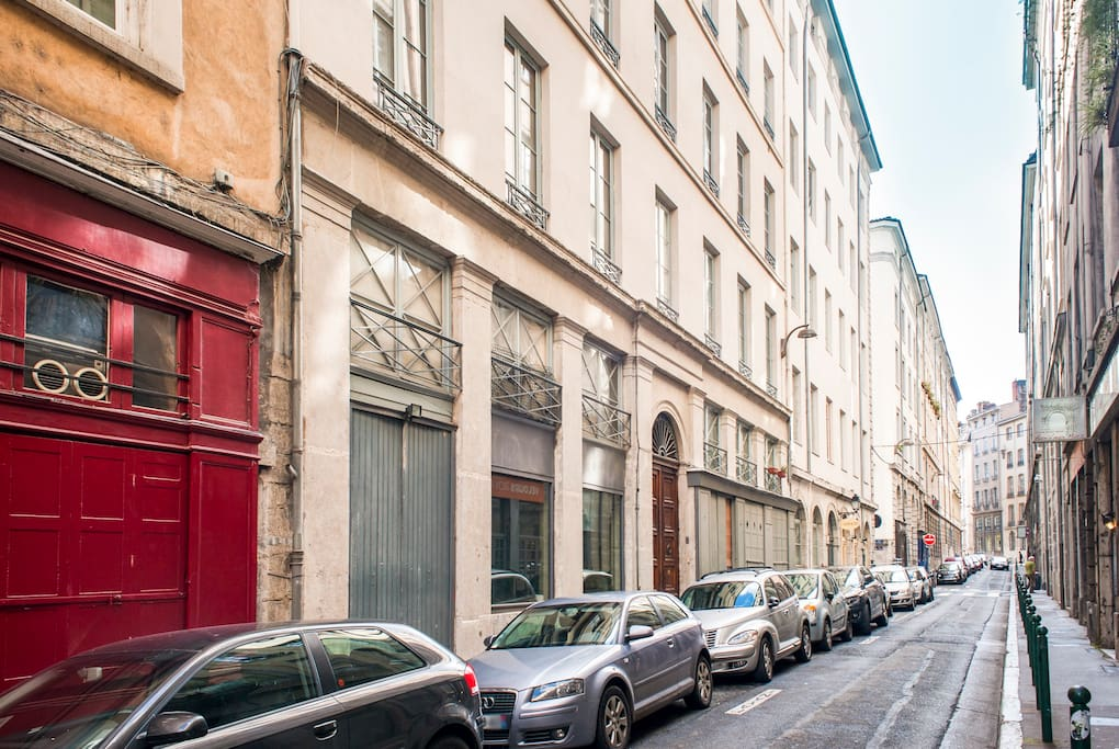 L'immeuble dans la rue Royale