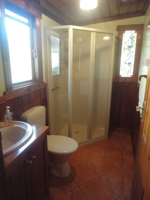 Bathroom for sole use by guests