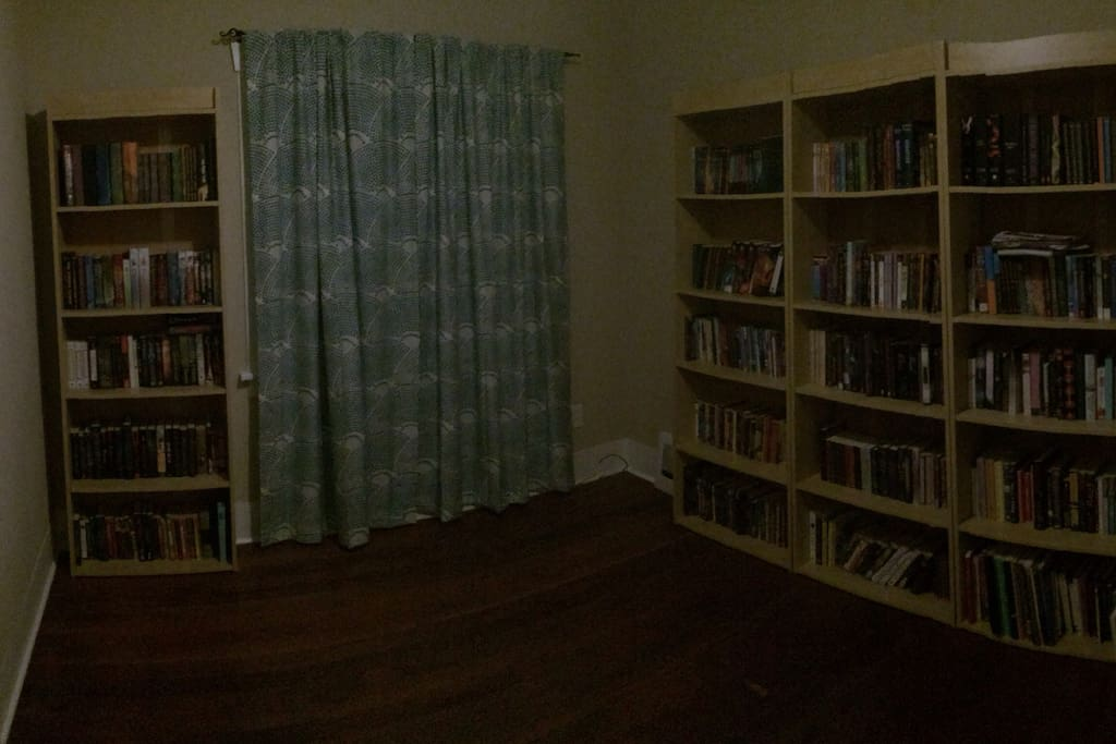 Library that can house an air mattress if needed