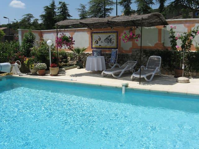 Très belle suite parc du Luberon - Rustrel - Villa