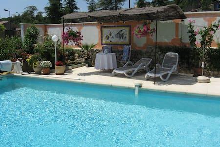 Très belle suite parc du Luberon - Rustrel - วิลล่า