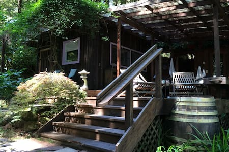 Rustic cottage in Sonoma redwoods - Occidental - Cabin - 2