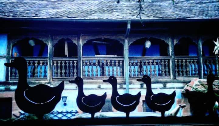 Le Clos Bleu - Chambre Hansel et Sauna