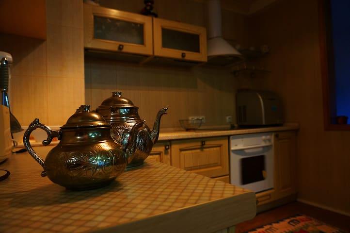 Удобная полностью оснащенная кухня