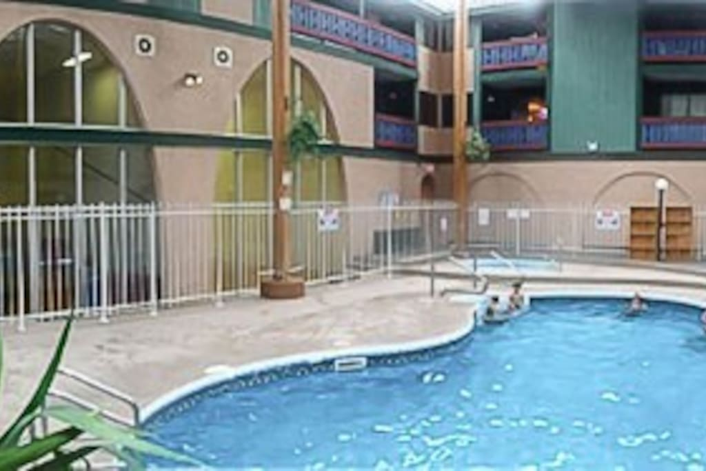 Building's pool & main common areas.
