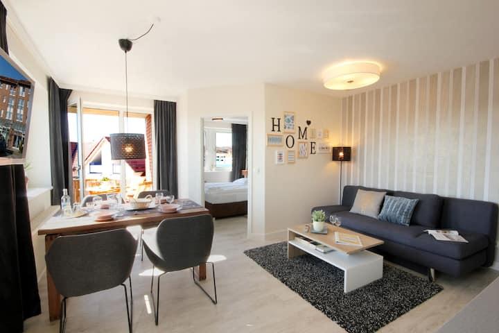 Lichtdurchflutetes  modernes Appartement in Binz