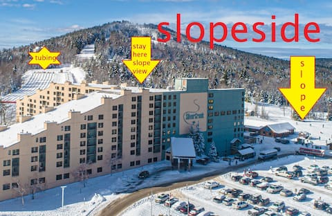 2218 ski in/out, slope side/view slps 4