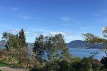 Serenity and Solitude, morning views at Hinemoa Point