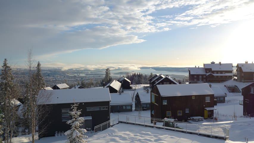 New house with Oslo panorama - Oslo - Rumah