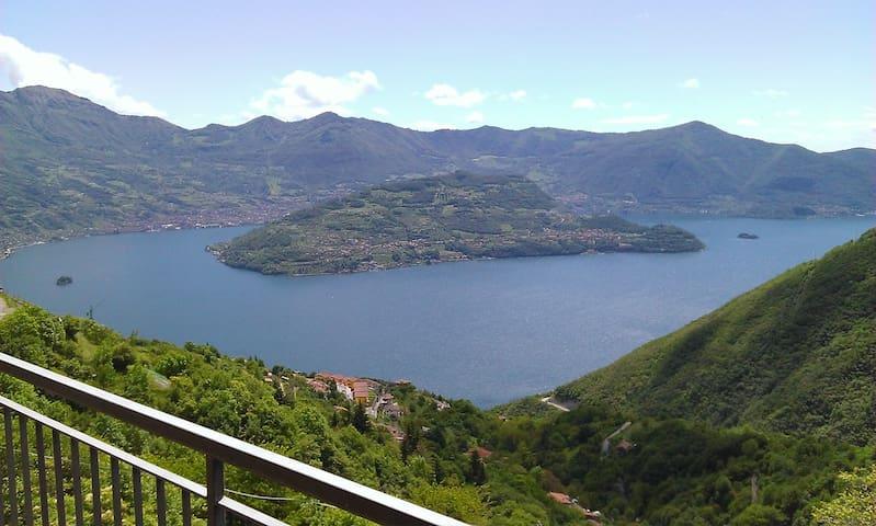 Romantico Appartamento  lago d'Iseo - Parzanica