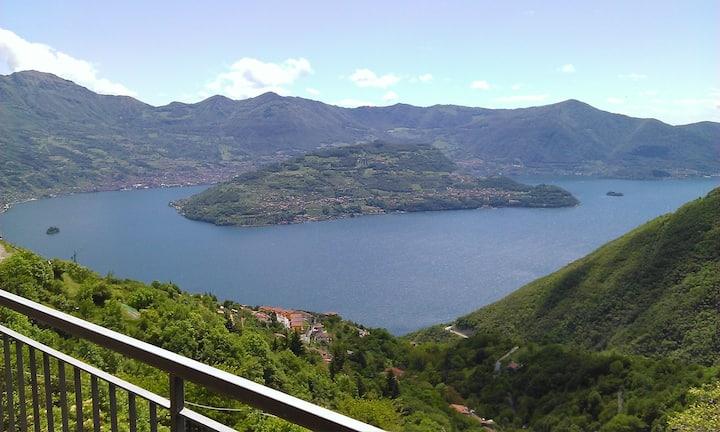 Romantico Appartamento  lago d'Iseo